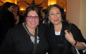 Io con Anna Scafuri