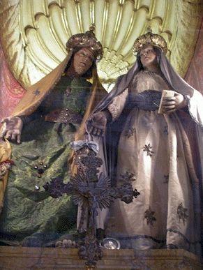 Vergine e sant'Anna conservata nella chiesa di Santa Caterina della Rota